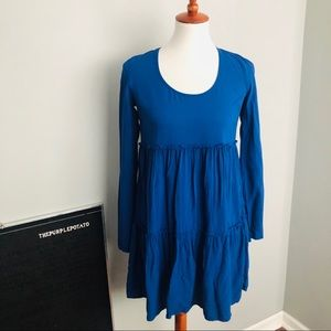 NWT Altar'd State Blue Open Back Mini Dress